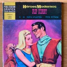 Tebeos: HEROES MODERNOS - RIP KIRBY - Nº 38. Lote 177066858
