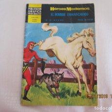 Tebeos: ANTIGUO COMICS HÉROES MODERNOS Nº 19 - EL HOMBRE ENMASCARADO - AÑO 1960. Lote 182288427