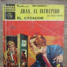 Tebeos: DOLAR SERIE AMARILLA - JUAN EL INTEPRIDO - EL CAZADOR - Nº 39 -DOLAR. Lote 182410601