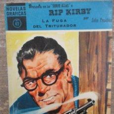 Tebeos: DOLAR SERIE AZUL - RIP KIRBY - LA FUGA DEL TRITURADOR - Nº 45 -DOLAR. Lote 182481357