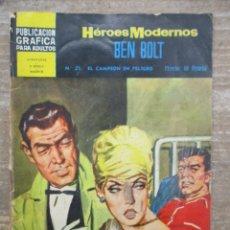 Tebeos: DOLAR HEROES MODERNOS - BEN BOLT - EL CAMPEON EN PELIGRO - Nº 27 -DOLAR. Lote 182481470