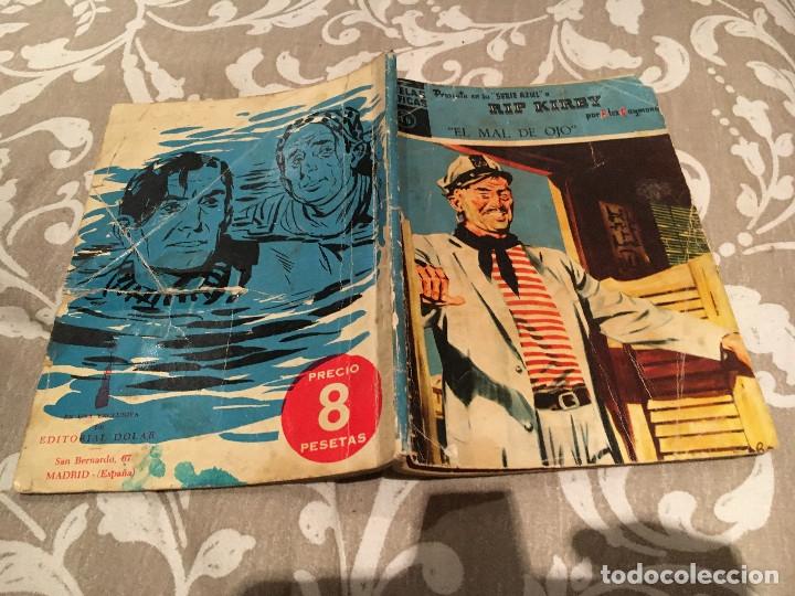 NOVELAS GRAFICAS , SERIE AZUL Nº 46 RIP KIRBY - EL MAL DE OJO : DOLAR (Tebeos y Comics - Dólar)