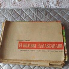 Tebeos: EL HOMBRE ENMASCARADO LOTE DE 6 ALBUM DE LUJO SIN PORTADA INCLUYE Nº1-3-10-11-12-16 AÑO 1958. Lote 182865055