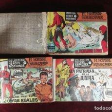 Tebeos: COLECCION COMPLETA EL HOMBRE ENMASCARADO 1 - 75 DOLAR 1964 ENCUADERNADA BUEN ESTADO OFERTA. Lote 183382972