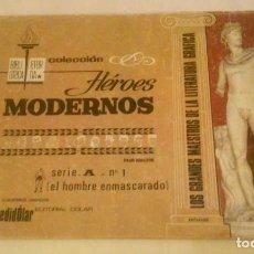Tebeos: COLECCIÓN HÉROES MODERNOS SERIE A - NÚMERO 1 EL HOMBRE ENMASCARADO (EDITORIAL DOLAR). Lote 183585156