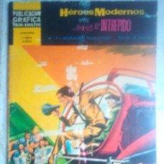 Tebeos: HÉROES MODERNOS-II ÉPOCA- Nº 7 -JUAN EL INTRÉPIDO-LOS SAN VITOS- GRAN FRANK ROBBINS-1967-2411. Lote 184059223