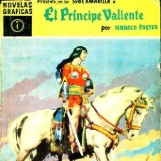 BDs: EL PRÍNCIPE VALIENTE. SERIE AMARILLA-4 (DÓLAR, 1959) DE HAROLD FOSTER. Lote 184690873