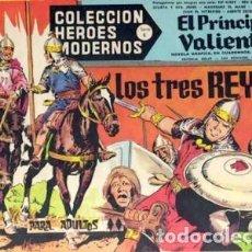 Tebeos: HÉROES MODERNOS-SERIE C- Nº 38 -EL PRÍNCIPE VALIENTE-LOS TRES REYES-1965-BUENO-MUY DIFÍCIL-LEAN-2515. Lote 187196010