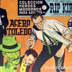 Tebeos: HÉROES MODERNOS-SERIE C- Nº 42 -RIP KIRBY-ACERO TOLEDO-1965-BUENO-MUY DIFÍCIL-LEAN-2517. Lote 187205420