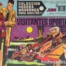 Tebeos: HÉROES MODERNOS-SERIE C- Nº 59 -JUAN EL INTRÉPIDO-VISITANTES OPORTUNOS-1965-BUENO-MUY DIFÍCIL-2518. Lote 187207446