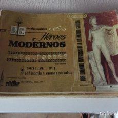 Tebeos: EL HOMBRE ENMASCARADO - COMPLETA 15 NÚMEROS - SERIE A - EDITORIAL DOLAR - 1958. Lote 188564113