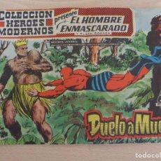 Tebeos: EL HOMBRE EMASCARADO Y FLASH GORDON NÚM. 27. GRAN FORMATO. EDITA DOLAR. TAPAS SUELTAS. Lote 188585236