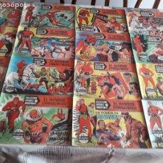 Tebeos: COMIC EL HOMBRE ENMASCARADO. COLECCION HEROES MODERNOS. INCLUYE 75 COMICS. SERIE A. 1958 ¡¡¡COMPLETA. Lote 189257160