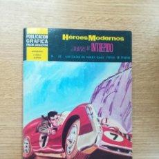 Giornalini: HEROES MODERNOS #35 JUAN EL INTREPIDO - LAS CAJAS DE HARRY CLAY. Lote 189766078