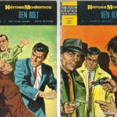 Tebeos: HEROES MODERNOS AVENTURAS 2ª EPOCA A.1966 LOTE 7 COMICS. Lote 190418903