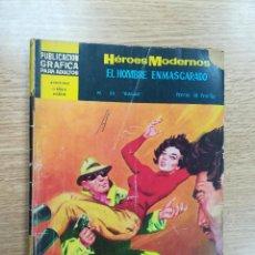 Tebeos: HEROES MODERNOS #34 EL HOMBRE ENMASCARADO BALAS. Lote 191295702