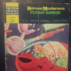BDs: FLASH GORDON . HEROES MODERNOS N.32 . PROYECTO ASTEROIDE .. Lote 191379480