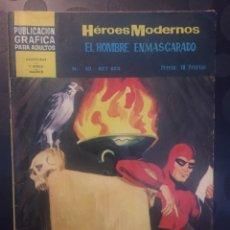 BDs: EL HOMBRE ENMASCARADO . HEROES MODERNOS N.40 . REY REX .. Lote 191385370