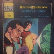 BDs: MANDRAKE EL MAGO . HEROES MODERNOS N.37 . LAS BRUJAS .. Lote 191385943