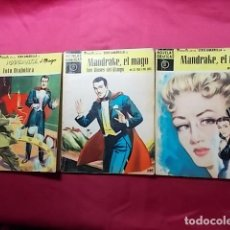 Tebeos: MANDRAKE EL MAGO. SERIE AMARILLA. 3 EJEMPLARES. Nº 2. 22 Y 32. EDITORIAL DOLAR.. Lote 191458421