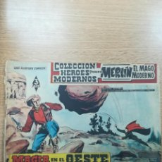 Tebeos: COLECCIÓN HEROES MODERNOS PRESENTA #2 MERLIN EL MAGO MODERNO. Lote 192302903