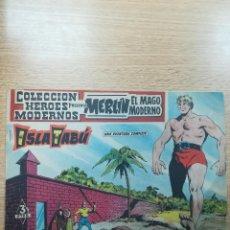 Tebeos: COLECCIÓN HEROES MODERNOS PRESENTA #13 MERLIN EL MAGO MODERNO. Lote 192302978