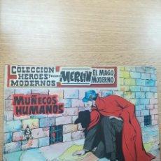 Tebeos: COLECCIÓN HEROES MODERNOS PRESENTA #14 MERLIN EL MAGO MODERNO. Lote 192302988