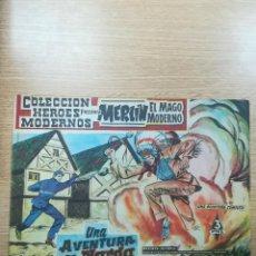 Tebeos: COLECCIÓN HEROES MODERNOS PRESENTA #9 MERLIN EL MAGO MODERNO. Lote 192303023