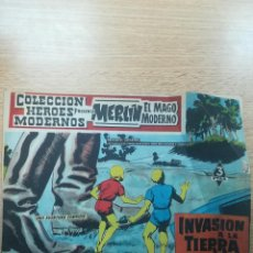 Tebeos: COLECCIÓN HEROES MODERNOS PRESENTA #12 MERLIN EL MAGO MODERNO. Lote 192303168