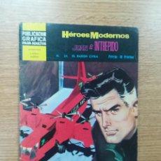 Tebeos: HEROES MODERNOS #24 JUAN EL INTREPIDO EL BARON CIFRA. Lote 192303213