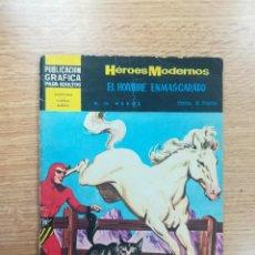 Tebeos: HEROES MODERNOS #19 EL HOMBRE ENMASCARADO HEROE. Lote 192303607