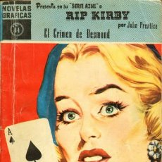 Livros de Banda Desenhada: RIP KIRBY-NOVELAS GRÁFICAS-DÓLAR- Nº 44 -EL CRIMEN DE DESMOND-1960-GRAN JOHN PRENTICE-BUENO-3064. Lote 193715731