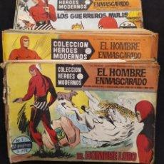 Tebeos: COLECCION HEROES MODERNOS, EL HOMBRE ENMASCARAD , 74 NUMEROS . SOLO FALTA N 71.. Lote 194336574