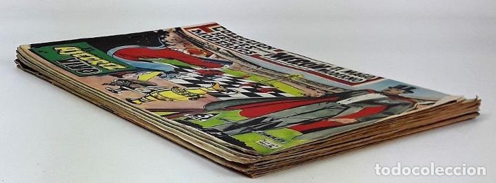 Tebeos: MERLIN EL MAGO MODERNO. 11 EJEMPLARES. EDITORIAL DÓLAR. MADRID. 1958. - Foto 9 - 138021994
