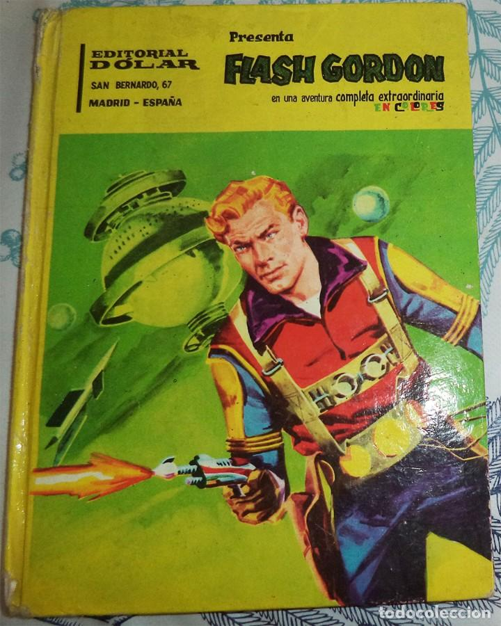 Tebeos: FLASH GORDON Ed. DOLAR PASTA DURA 96 PAGINAS COLOR - Foto 1 - 195051802