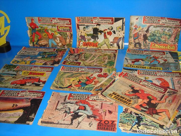 COLECCION HEROES MODERNOS EL HOMBRE ENMASCARADO Y FLASH GORDON-20 NUMEROS (Tebeos y Comics - Dólar)