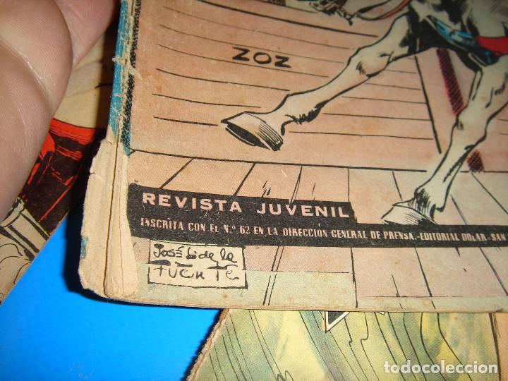Tebeos: COLECCION HEROES MODERNOS El hombre enmascarado y Flash Gordon-20 numeros - Foto 5 - 195060358