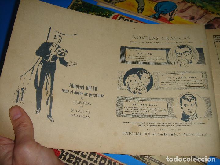 Tebeos: COLECCION HEROES MODERNOS El hombre enmascarado y Flash Gordon-20 numeros - Foto 6 - 195060358