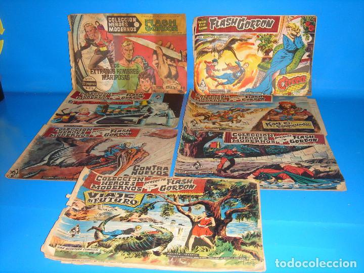 LOTE DE COMICS COLECCION HEROES MODERNOS FLASH GORDON 7 NUMEROS-DOLAR (Tebeos y Comics - Dólar)