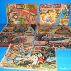 Tebeos: LOTE DE COMICS COLECCION HEROES MODERNOS FLASH GORDON 7 NUMEROS-DOLAR. Lote 195060416