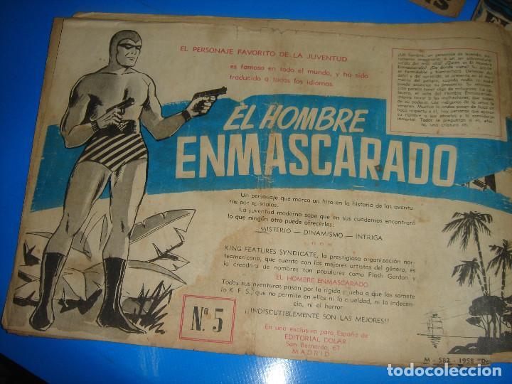 Tebeos: Lote de comics COLECCION HEROES MODERNOS Flash Gordon 7 numeros-dolar - Foto 4 - 195060416