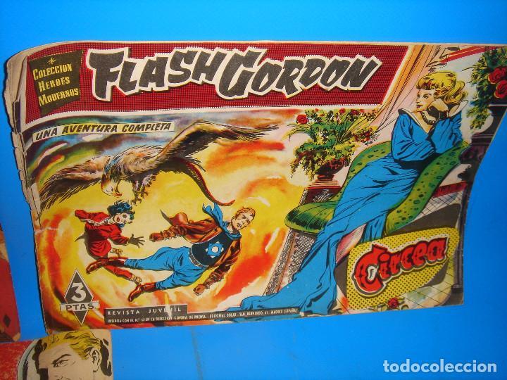 Tebeos: Lote de comics COLECCION HEROES MODERNOS Flash Gordon 7 numeros-dolar - Foto 6 - 195060416