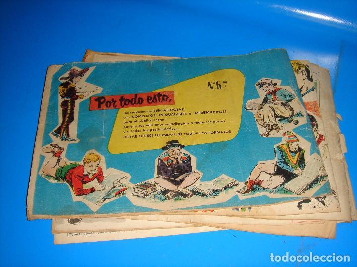 Tebeos: Lote de comics COLECCION HEROES MODERNOS Flash Gordon 7 numeros-dolar - Foto 8 - 195060416