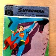 Tebeos: SUPERMAN / NÚMERO 5 / UN MILLÓN POR UNA SONRISA / WAYNE BORING / . Lote 195191553
