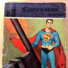 Tebeos: SUPERMAN / NÚMERO 9 / LA QUINTA DIMENSIÓN / WAYNE BORING / . Lote 195192301
