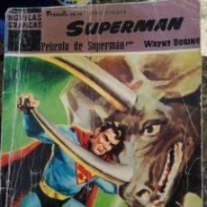 Tebeos: SUPERMAN. NÚMERO 3 PELÍCULA DE SUPERMAN AUTOR: WAYNE BORING.. Lote 196877237