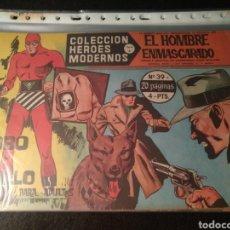 Tebeos: EL HOMBRE ENMASCARADO, SERIE A, DEL 39 AL 42, DOLAR. Lote 197192381