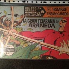 Livros de Banda Desenhada: EL HOMBRE ENMASCARADO, SERIE A, N° 74, DOLAR. Lote 197192540