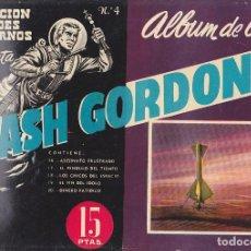 Tebeos: COMIC COLECCION FLASH GORDON ALBUM LUJO Nº 4. Lote 197540195