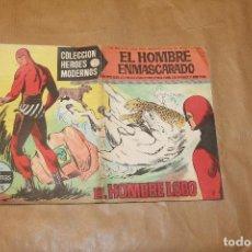 Livros de Banda Desenhada: EL HOMBRE ENMASCARADO Nº 1, COLECCIÓN HÉROES MODERNOS, EDITORIAL DÓLAR. Lote 198554892